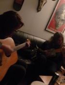 Winding down jamming with Wino after a recent press trip