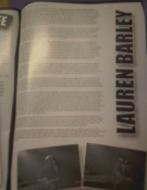 My first article in Mass Movement zine