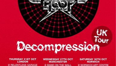 Chrome Hoof UK tour announced this October