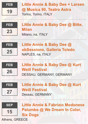 Three lost albums of Little Annie, reissued, repackaged, intact.