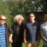 Melvins (Image by Mackie Osborne; Left to right: Dale Crover, Buzz Osborne, Paul Leary, JD Pinkus)