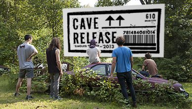 Cave reveal a track from their upcoming singles compilations, entitled Release, available October 20th via Drag City