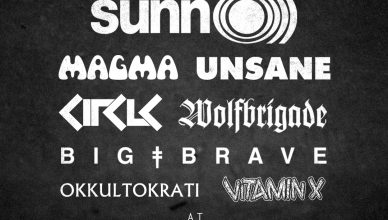 Southern Lord showcase evening to take place this Oct, feat SUNN O))), Magma, Unsane, Circle, Wolfbrigade, BIG | BRAVE, Okkultokrati and Vitamin X