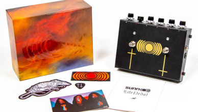 SUNN O))): EarthQuaker releases exclusive distortion pedal; Life Pedal marks company's first artist-oriented collaboration