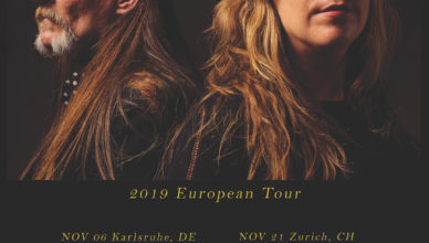 Earth announce European tour dates this November in support of the new album; Full Upon Her Burning Lips