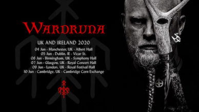 Wardruna sign to Sony Music/Columbia Records for the world and announce tour dates for 2020