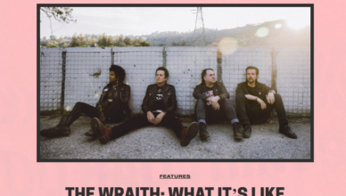 Kerrang! share the full album stream for The Wraith and speak to bassist Paul Rogers