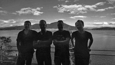"tētēma release Necroscape on April 3rd via Ipecac Recordings, listen to ""Haunted On The Uptake"""