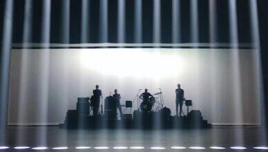 Montréal avant-rock band Fly Pan Am shares a new a/v single, part of the Constellation Corona Borealis Series